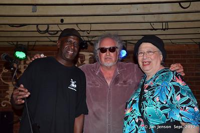 Chuck Cotton, Bob Margolin & Ann Rabson