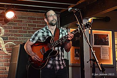 Chris Vitarello  - Bruce Katz Band - encore @ Double Door, Charlotte, NC - May 16, 2015