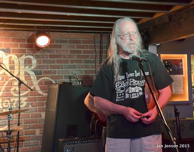 John Martin introducing the Bruce Katz Band