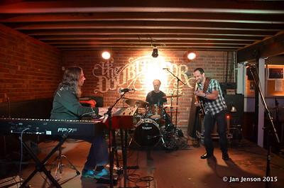 Bruce Katz Band @ Double Door Inn, Charlotte, NC  - May 16, 2015 Bruce Katz, Ralph Rosen and Chris Vitarello.
