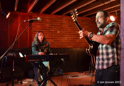 Bruce Katz & Chris Vitarello  - Bruce Katz Band @ Double Door, Charlotte, NC - May 16, 2015