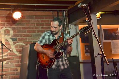 Chris Vitarello  - Bruce Katz Band @ Double Door, Charlotte, NC - May 16, 2015