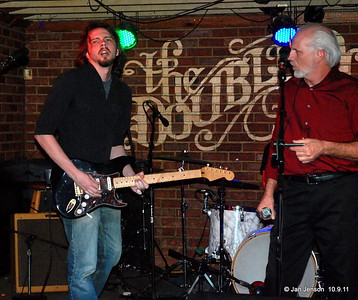 "The Bill Miller Band - Bill Miller III guitar, vocals; Bill Miller jr. vocals, harmonica Randall Cowles, Bass; Stuart Sullivan, Drums Hometown - Charlotte, NC With fiery lead guitar, smoldering vocals, and a tight driving rhythm groove, The Bill Miller Band delivers a powerful, contemporary interpretation of vintage blues. Biography With fiery lead guitar, smoldering vocals, wailing harmonica and tight driving bass and drums, the 4 piece Bill Miller Band gets everyone moving to their high-powered, contemporary interpretation of vintage blues. Bill Miller Jr. blows harp and shares vocals with Bill III. Heavily influenced by Albert King, Bill III took up the guitar in 1997 and first jammed on the Double Door stage later that year. They've been exciting Charlotte area audiences with their high energy blues/rock ever since. Their sound has been referred to as an amalgam of Stevie Ray Vaughn, Eric Clapton, Chicago blues and Southern rock. ""Their music is solid and powerful, dynamic and subtle - a lot of variety for your ears"" Charlotte Blues Society billmillerband@gmail.com http://www.reverbnation.com/billmillerband http://www.myspace.com/thebillmillerband"