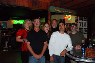Nita Belk, Tim Belk, Jill Dineen, Bob DeLano, Tony Honeycutt and Dave Eatman.