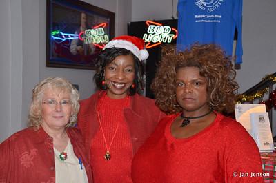 Rita Miller, Jeri Thompson & Chocolate Thunder (Linda Rodney)