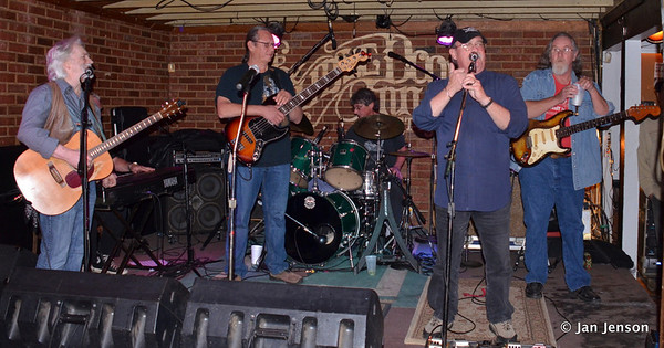 Rick Ballew with Part Time Blues Band