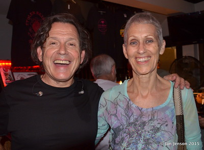 Tommy Castro and Jan Jenson - last time I saw Tommy was in 1987 @ JJs Blues Cafe in Mt. View, CA