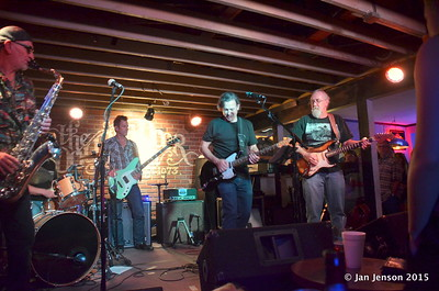 Tommy Castro and the Painkillers @ Double Door Inn, Charlotte, NC  May 21, 2015 - final jam with Rusty Barkley and Mike Taylor