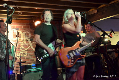 Tommy Castro and the Painkillers @ Double Door Inn, Charlotte, NC  May 21, 2015 - final jam with Pam Taylor and Mike Taylor