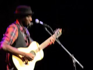 Keb Mo 2 @ McGlohon Theater in Charlotte, NC  December 8, 2012