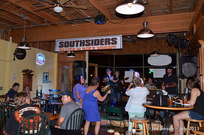 Pam Taylor Band @ Southsiders in Waxhaw, NC  July 12, 2013