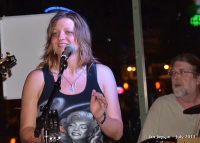 Pam Taylor & L.A. Freeman  7-12-13