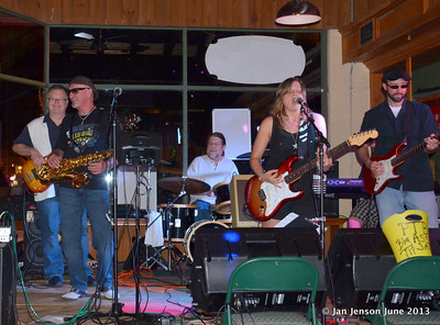 Pam Taylor Band at Southsiders, Waxhaw, NC  6-19-13