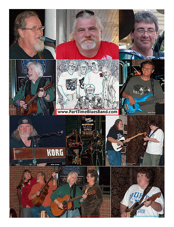 Part Time Blues Band & friends
