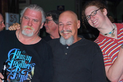 "Jim ""Grub"" Thornburg, Bob Dunlap (in back), Charlie Atwell, and Brian Olson"