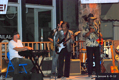 Pop Ferguson Blues Festival - June 9, 2012 - Lenoir, NC Grand finale for the night with Mac Arnold Band, plus Beverly Guitar Watkins, Pop Ferguson, Boo Hanks and Miss E (Elizabeth Hodge).