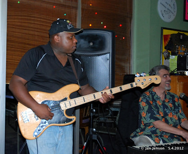 .Ray McClelland Jr. (bass) and Donn Livingston (keyboard)