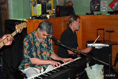 Donn Livingston (keyboard) and Richard M. Kausch on drums.