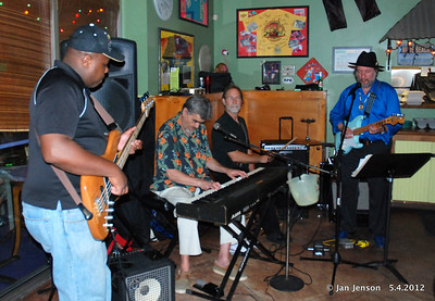 From Donn Livingston (keyboard player)  ‎...too many of you missed it ...but Wolf ...aka Michael Ingmire and I thoroughly enjoyed our evening at Skinnyz Bar & Grille last night and we to thank everybody that came out and partied with us. Special shout out to those that came and sat in with us ...Ray McClelland Jr. on bass, Richard M. Kausch on drums, Bill Montgomery, trumpet ...and special guest ...Rayfield Taylor brought some strong vocals to the event!!! Professor Greyhair