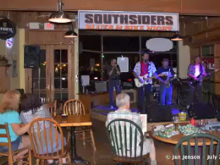 The Mighty RhythmBusters 2 at Southsiders, Waxhaw, NC  -  July 17, 2013  http://www.facebook.com/The-Mighty-RhythmBusters  Artist:  Chuck Calhoun This drawing IS for sale! lakesidepainter@gmail.com  Video editing by  Jan Jenson * Vizual Explorations  http://www.vizualexplorations.smugmug.com