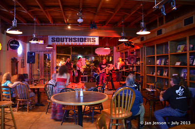 The Mighty RhythmBusters @ Southsiders in Waxhaw, NC  July 17, 2013