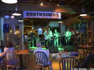 The Mighty RhythmBusters  3  at  Southsiders, Waxhaw, NC - July 17, 2013 www.facebook.com/The-Mighty-RhythmBusters  Artist:  Chuck Calhoun, Charlotte, NC This picture IS for sale! lakesidepainter@gmail.com  Video editing by  Jan Jenson  *  Vizual Explorations www.vizualexplorations.smugmug.com