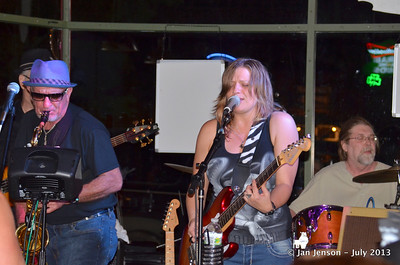 Pam Taylor Band @ Southsiders, Waxhaw, NC  7-12-13