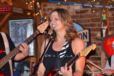 Pam Taylor Band at Smokey Joes in Charlotte 10.6.12