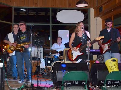 Pam Taylor Band at Southsiders, Waxhaw, NC  6-19-13