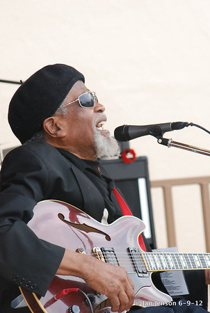 Pop Ferguson Blues Festival in Lenoir, NC on 6-9-2012
