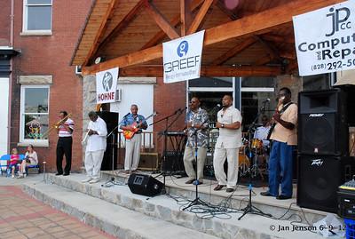 Pop Ferguson Blues Festival - June 9, 2012 - Lenoir, NC Annointed
