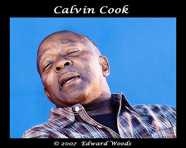 Calvin Cook at the 2007 San Francisco Blues Festival