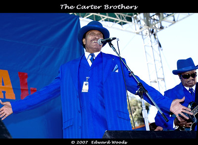 The Carter Brothers at the 2007 San Francisco Blues Festival