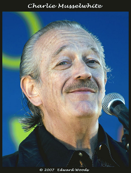Charlie Musselwhite at the 2007 San Francisco Blues Festival.