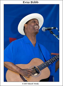 Eric Bibb at the 2007 San Francisco Blues Festival.