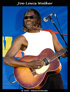 Joe Lewis Walker at the 2007 San Francisco Blues Festival