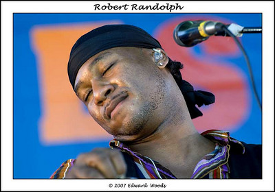 Robert Randolph at the 2007 San Francisco Blues Festival