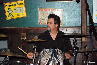 Richy Payce on drums - playing with Sonny Skyyz and the Rainmakers.