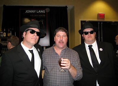 Me with Jake & Elwood