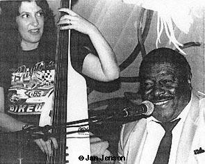 Leslie Baker with Floyd Dixon