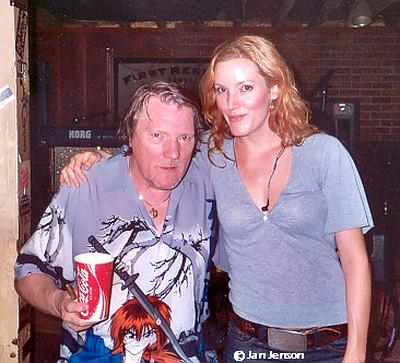 Brian Auger & his daughter Savannah Grayson