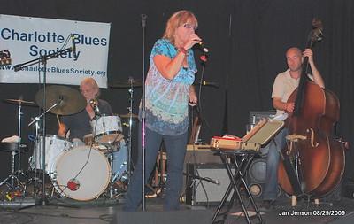 Jim Brock - drums, Robin Rogers, Kerry Brooks - bass.