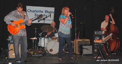 Tony Rogers, Jim Brock on drums, Robin Rogers, Kerry Brooks - bass.