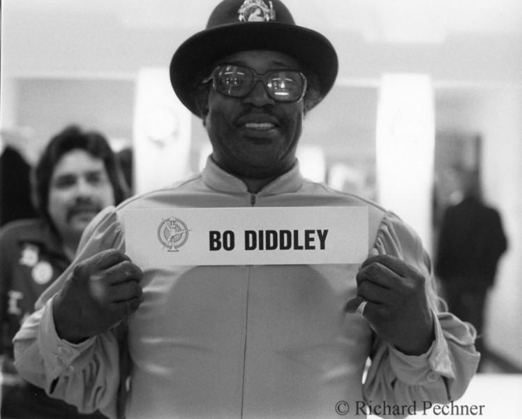 Bo Diddley mug shot