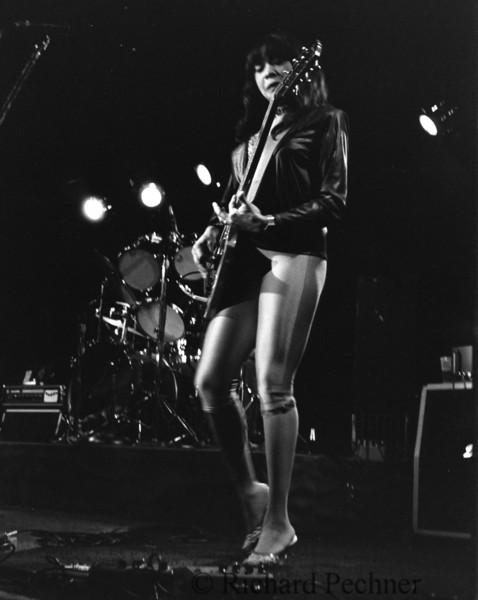 Lady Bo on guitar