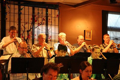 Trumpet Section - Vern Sielert, Tim Larkin, Terry Lack, Larry Jess, Jim Phillips