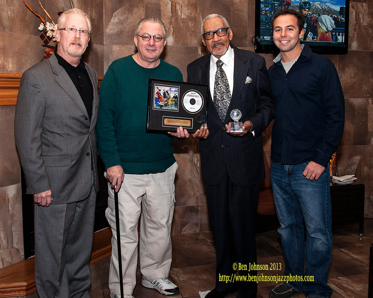 The Somers Point Jazz Society celebrates WRTI's Bob Perkins 80th birthday and 50 years of Radio Broadcasting
