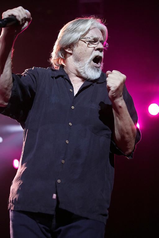 . Bob Seger performs at Eastern Michigan University. (Photo by Ken Settle)