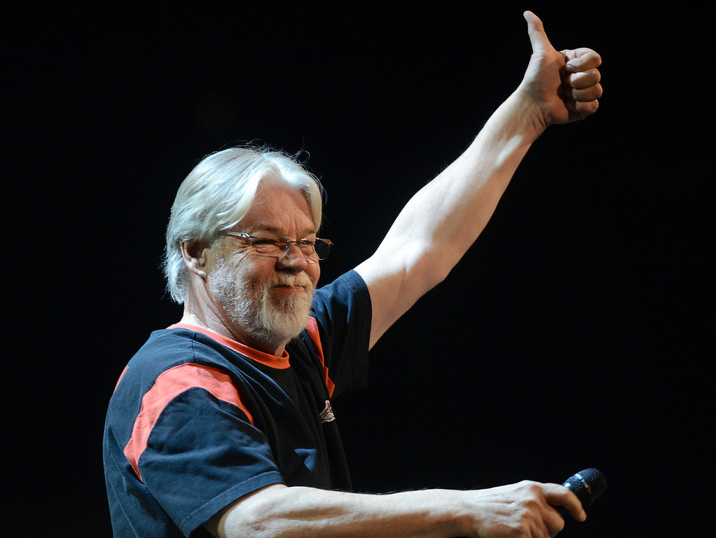 . Bob Seger performs for the crowd.  Photo taken on Tuesday, May 17, 2011, at The Palace in Auburn Hills, Mich.  (The Oakland Press/Jose Juarez)