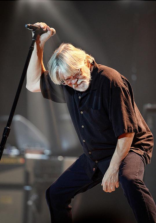 . Bob Seger performs in concert at Eastern Michigan University, Nov. 2, 2011.